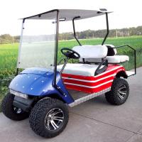 Quality 2 seater electric golf car for sale