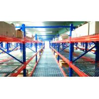 Quality Structural Pallet Rack Mezzanine Systems Corrosion Protection Raised Storage Area for sale