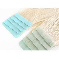 Buy cheap Glossy Blonde Tape In Hair Extensions High Durability No Split Easy To Wear from wholesalers