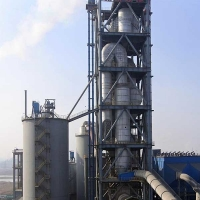 Quality Dry Process Rotary Kiln 200T/D 600T/D Cement Preheater For Cement Plant for sale
