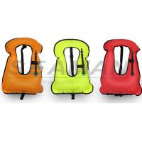 Quality 420D Nylon Urethane Coated Safety Water Sports Equipment Adult Snorkeling Vest for sale