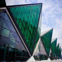 Quality Energy saving soundproof reflective nsulated glass curtain wall for sale