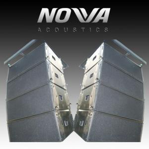 "Dual 12"" Outside Pro Audio Equipment For Church / Nigh Club , SGS Standard"