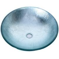 Quality Artificial Glass Type Wash Basin / Glass Basin Round Model Carton Packing for sale