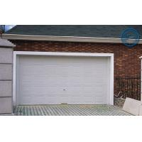 Quality White Insulated Garage Doors Non-finger Protection , 40mm Steel Panel for sale