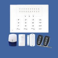 China wireless LED screen gsm alarm system Supports 10 wireless remotes, 60 wireless sensors on sale