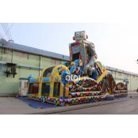 Quality Inflatable Robot Playground for sale