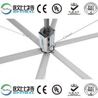 Buy OPT 24FT industrial HVLS fans with big air circulation and comfortable feeling at wholesale prices