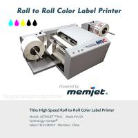 Color inkjet printer wholesaler color inkjet printer for sale original astro m1c color label printerroll to rollinkjetpowered by memjet print variable labels m4hsunfo
