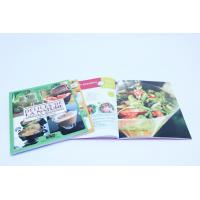 Best A4 Full Color Recipe Printing Services With Spot UV , Perfect Binding wholesale