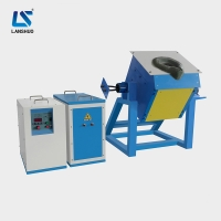 Quality 35kw 30kg Gold Silver electric copper melting furnace For Foundry for sale