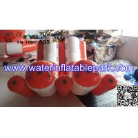 Best Professional Durable 0.9mm PVC Double Water Inflatable Seesaw / Water Totter wholesale