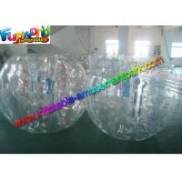 China 0.8MM TPU Inflatable Zorbing Bumper Ball, Football Bubble Ball For Kids on sale