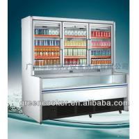China Supermarket Display Freezer Combined Freezer Refrigerator Display on sale