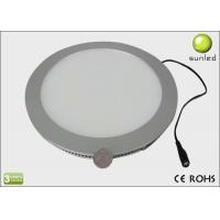China Round Flat Panel Led Lights , 180MM x 15MM SMD3014 Chips Panel Lighting on sale