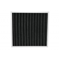 Quality Eliminate Peculiar Smell Pleated Panel Activated Carbon Deodorizer Air Filter for sale