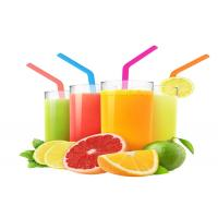 Buy Food Grade Silicone Smoothie Straws , Kids Bendable Silicone Straws Lightweight at wholesale prices