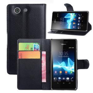 China PU leather case for Sony Xperia Z4 Mini case , Wallet style leather flip case for Sony Xperia Z4 Mini on sale