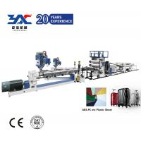 Buy cheap luggage bag PC ABS Sheet Extruder Machine in Whole production line from wholesalers
