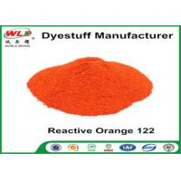 Quality Fabric Reactive Dyes Reactive Orange Wre C I Orange 122 Pad Dyeing Series for sale