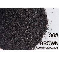 China Tilting Furnace Aluminum Oxide Abrasive Grits FEPA Brown 30# 36# 46# For Cutting Discs on sale