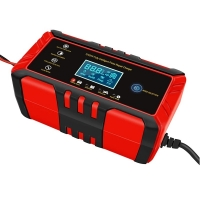 Quality Microprocessor Control  24V 8A Diesel  Car Truck Battery Charger for sale