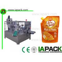 China 450g Honey Doypack Liquid Pouch Packaging Machines High Frequency on sale