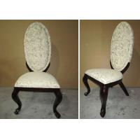 Best Wooden Fabric Modern Dining Room Furniture Chairs With Hand Carved Decoration wholesale