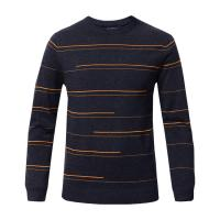 China Pure Cashmere Men's Winter Knit Pullover Sweaters Business Style OEM Service on sale