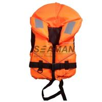 Quality Orange Rescue Water Sport Life Jacket 100N CE Certificate Nylon EPE foam for sale
