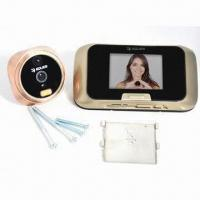 Quality Smart Peephole Door Viewer with Auto-detective, Day/Night Vision, Photo and Video for sale