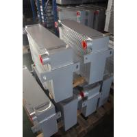 Quality Vacuum Brazed Aluminum bar & plate fin heat exchanger with water cooler for sale