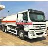 Buy cheap 6X4 Stainless Steel Fuel Transport Trucks , 20000 - 25000 Liter Gasoline Tanker from wholesalers