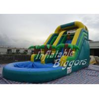 Best Amusement Park Inflatable Giant Blow Up Water Slides , AU Inflatable Fun Rentals wholesale