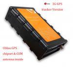 Quality Ublox 3G GPS Tracker Fuel Sensor Plastic Case Internal GPS Antenna for sale