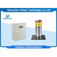 Quality Integrated Electro - Hydraulic Rising Security Bollards With Rising Height 600mm for sale