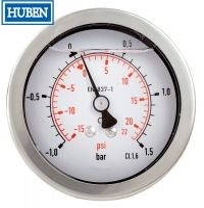 Quality 0 to 3,500 PSI Glycerine Filled Pressure Gauge for sale