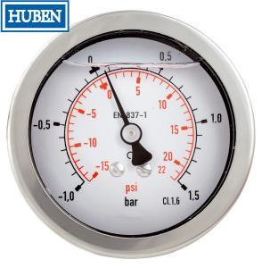 Quality Glycerine filled Bourdon tube pressure gauges for sale