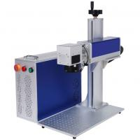 Quality Metal Leather Laser Engraving Machine 300mm X 300mm 7000mm/S High Speed for sale