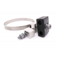Quality Stainless Steel Adss Opgw Rubber Down Lead Clamp for sale