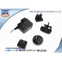 Quality Interchangeable 5V 1A AC DC Power Adapter CE CB GS UL FCC PSE ROHS RCM for sale