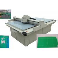 Quality Time Savings Box Cutting Machine Equipped With Servo Motor Oscillating Knife for sale