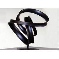 Quality Indoor Ribbon Bronze Lawn Statues , Abstract Bronze Sculptures WS-C038 for sale