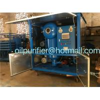 Quality Vacuum Transformer Oil Treatment Plant, Switchgear Oil Processing Equipment, Oil Reconditioning Device for sale