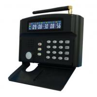Quality 315MHZ / 433MHZ LCD GSM Alarm System Two-way With 24 Wireless Zones for sale