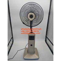 """Quality 16"""" electric plastic misting fan with LED display and remote for office and home appliances / 16 inch Ventilador for sale"""