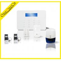 Touch Keypad Wireless GSM Alarm System With Smart Door Sensor Support App