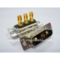 Best High Power D-SUB Combo 3V3 Male Solder Type Connector wholesale