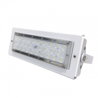 Quality Detection distance 12m PIR LED Flood Light 50W with high efficiency for sale