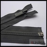Quality High quality #3 metal zipper with black nickel teeth C/E for sale for sale